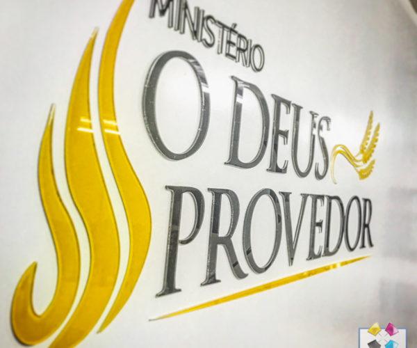 Dna Comunicação Visual - Letra Caixa-3Deus Provedor