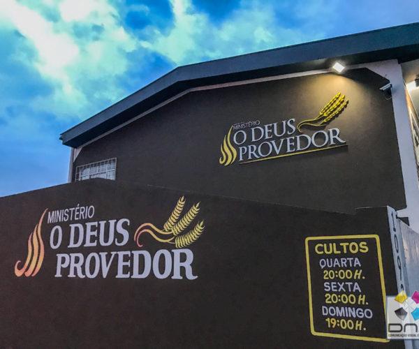Dna Comunicação Visual - Letra Caixa-9Deus Provedor